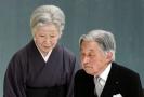 Japonský císař Akihito s manželkou Mičiko.