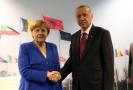 Německá kancléřka Angela Merkelová a turecký prezident Recep Tyyip Erdoğan.