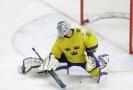 Anders Nilsson na letošním hokejovém MS.