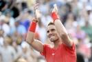 Rafael Nadal po triumfu na Rogers Cupu.