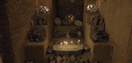 Podzemní labyrint v Arménii.