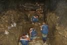 Archeologické naleziště v pohoří Altaj.