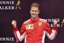 Sebastian Vettel bojuje ještě s Ferrari o mistrovský titul.