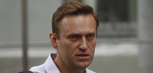 Ruský opozičník Alexej Navalnyj,