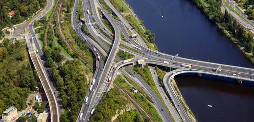 Barandovský most.