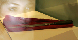 Nůž, kterým údajně vraždil Jack Rozparovač.
