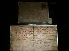 Dopis podepsaný Jackem Rozparovačem.