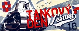 Tankový den v Lešanech.