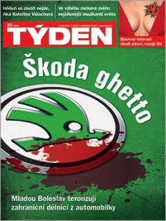 Titulní strana TÝDNE 37/2018.