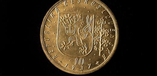 Svatováclavský desetidukát z roku 1937.