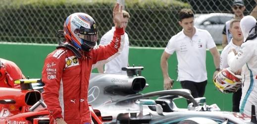Räikkönenovo Ferrari udělalo na domácí trati rekord. Fin je první.