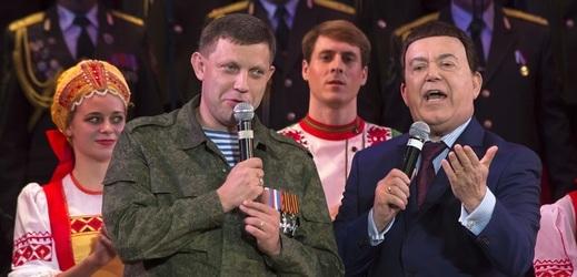 Alexandr Zacharčenko (vlevo).