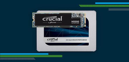 Spousta rychlého místa? To je SSD Crucial MX500