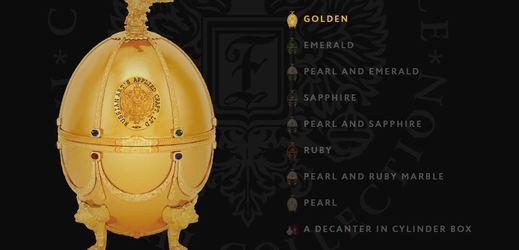Novinkou firmy Lagoda Group je zlaté Fabergého vejce, které ukrývá luxusní vodku.