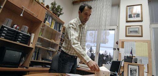 František Prokop, ředitel Základní školy Táborská v Praze 4 na snímku z roku 2007.