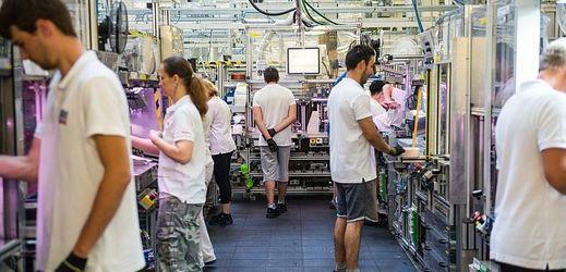 Českobudějovická firma Robert Bosch, která vyrábí součástky do aut (ilustrační foto).