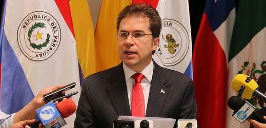 Paraguayský ministr zahraničí Luis Castiglioni.