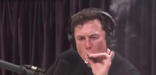 Generální ředitel Tesly Elon Musk.