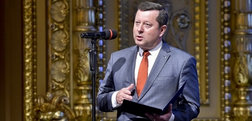 Ministr kultury Antonín Staněk (ČSSD).