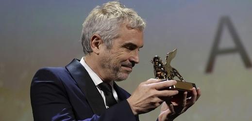 Režisér Alfonso Cuarón s oceněním Zlatý lev.