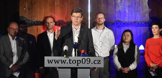 Předseda TOP 09 Jiří Pospíšil.