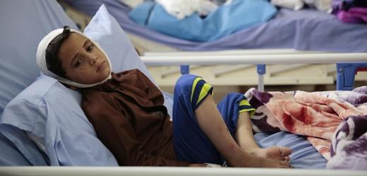 Válka v Jemenu si vybírá oběti i na dětech.