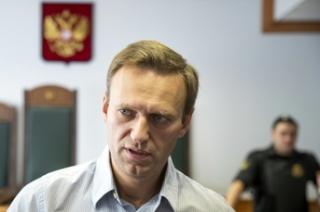 Opoziční předák Alexej Navalnyj, který protesty svolal.
