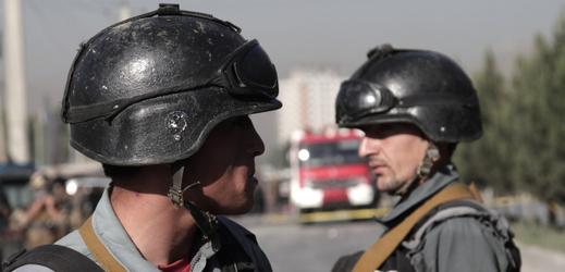 Afghánská policie.