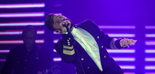 Portorický zpěvák Ricky Martin.