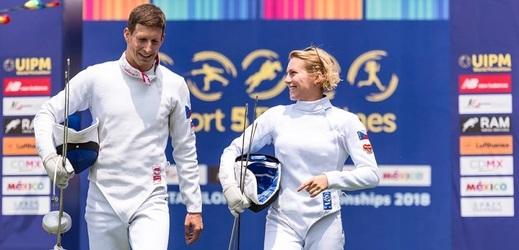 Eliška Přibylová s Ondřejem Polívkou udělali na mistrovství světa skvělý výsledek.