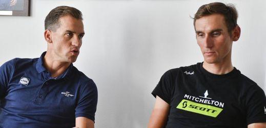 Zdeněk Štybar a Roman Kreuziger budou tahouny českého týmu na MS.