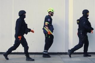 """""""Akce se účastní zhruba čtyři sta policistů."""