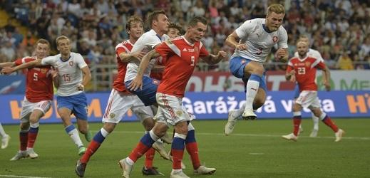 Česká reprezentace nebyla pro sbornou dostatečně silným měřítkem.