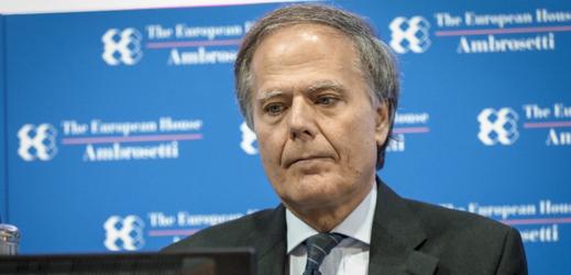 Italský ministr zahraničí Enzo Moavero Milanesi.
