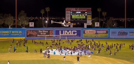 Fanoušci Las Vegas Lights na posledním domácím utkání pořádně vydělali.