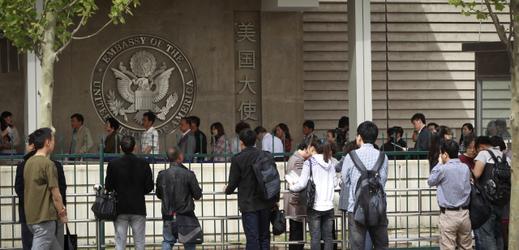Americká ambasáda v Číně.