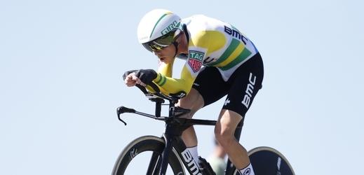 Vítěz další časovky Vuelty Rohan Dennis.