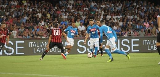 Fotbalisté Neapole nechtějí hrát Ligu mistrů doma ale v Bari (ilustrační foto).