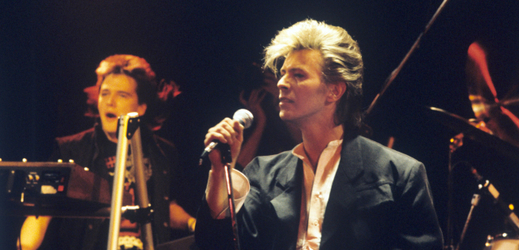 Legenda popu David Bowie.