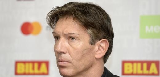 Trenér hokejistů Sparty Uwe Krupp.