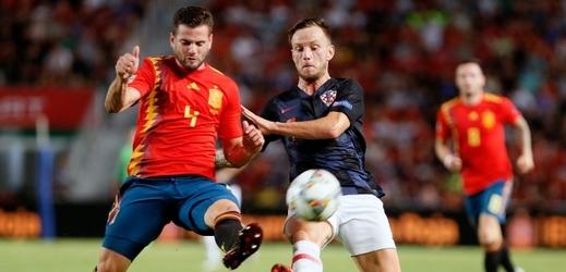 Chorvatům se zápas proti Španělsku vůbec nepovedl.