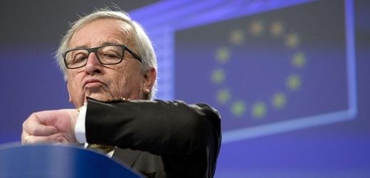 Jean-Claude Juncker vystoupí před Evropským parlamentem.