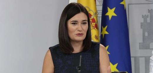 Carmen Montónová měla na starosti ministerstvo zdravotnictví.