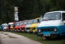 Na snímku sraz vozidel Škoda 1203.