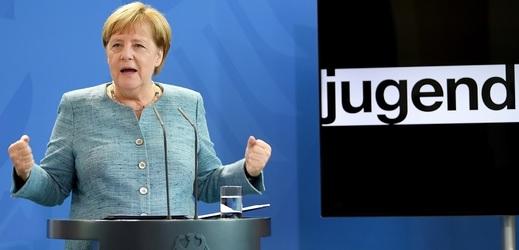 Německá kancléřka Angela Merkelová nepřipustí, aby některé skupiny obyvatel byly vylučovány ze společnosti.