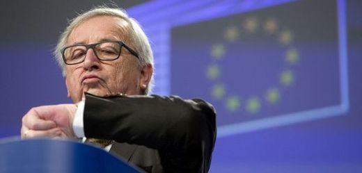 Předseda komise Jean-Claude Juncker.