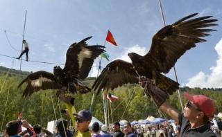 Nomádské hry letos přilákaly sportovce z osmdesáti zemí.