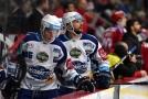 Leoš Čermák (vpravo) se rozhodl pokračovat v hokejové kariéře.