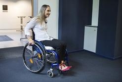 Kristina Vogelová chce působit v cyklistice i na vozíku.