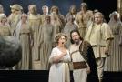 Zkouška opery Libuše v Národním divadle.